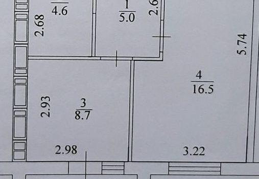 002067 * 1к.кв. в ЖК Архитекторов