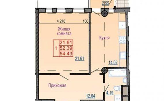 017062 * 1к.кв. Павловский квартал
