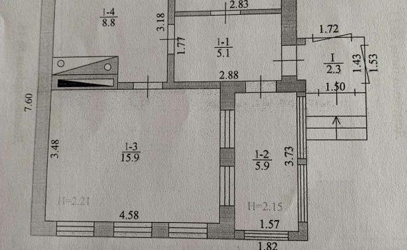 005001 * Ветхий домик с. Ржавец