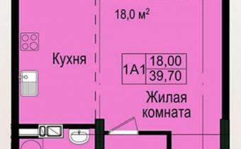 003177 * 1к.кв. ЖК Пролисок