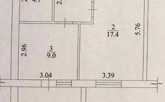 013121 * 1к.кв. ЖК Архитекторов