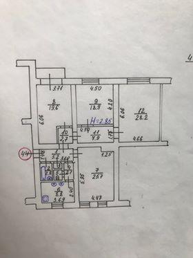 013045 * 4к.кв. в Центре